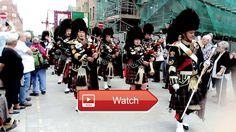 Accrington pipe band Madonna del Rosario procession 17