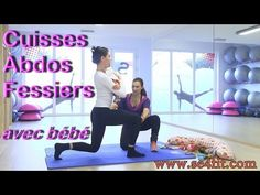 Coaching postnatal ! Cuisses abdos fessiers (avec bébé) - YouTube