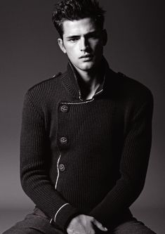 Sean O'Pry for Armani Jeans F/W  12/13