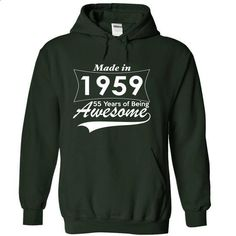 55 Years of Being Awesome - #disney hoodie #funny sweater. MORE INFO => https://www.sunfrog.com/Birth-Years/55-Years-of-Being-Awesome-usodi-Forest-4035007-Hoodie.html?68278