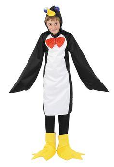 traje de pingüino para niños