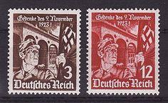 D.Reich 1935 9 nov.1923 Mi. Nr. 598 - 599