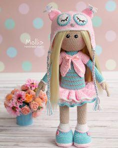 Автор фото @mollisolga - подписывайте свои фото тегом #weamiguru, лучшие попадут в нашу ленту! #amigurumi #crochet #knitting #cute #handmade #амигуруми #вязание #игрушки #интересное #ручнаяработа #toys #cute #amigurumilove #хендмейд
