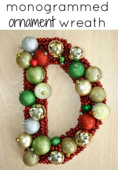 DIY Christmas Decor {Wreath}