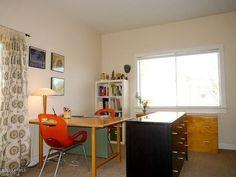 master bedroom / office