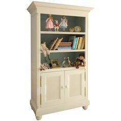 AFK Evan Two Tone Door Bookcase