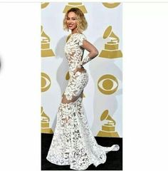 Beyonce's stunning michael costello couture gown