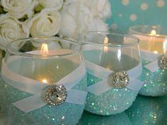 más y más manualidades: Transforma floreros y recipientes de cristal con e...