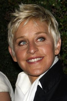 Ellen Degeneres is funny, positive, and celebratory of individuals; ordinary and well known human beings. Fabulous traits.