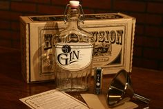 Handcraft your very own bottle of Gin just like they did during the days of Prohibition! Transform any unflavored Vodka into a Juniper delight