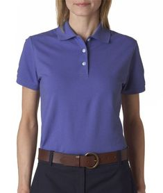 Buy Izod Women's Short Sleeve Silk-Wash Pique Polo Shirt at Discounted Prices ✓ FREE DELIVERY possible on eligible purchases. Izod Women's Short Sleeve Silk-Wash Pique Polo Shirt Pique Polo Shirt, Lycra Spandex, Sports Shirts, Sports Women, Polo Ralph Lauren, Silk, Three Logo, Lady, Sleeves