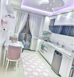 Este posibil ca imaginea să conţină: interior Kitchen Room Design, Cozy Kitchen, Kitchen Interior, Kitchen Decor, Living Room Sets, Living Room Decor, Bedroom Decor, Dining Room Table Decor, Teen Room Decor