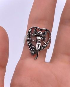 All – Cyberspace Shop Cute Jewelry, Jewelry Rings, Jewelry Accessories, Piercings, Grunge Jewelry, Nail Ring, Bling, Accesorios Casual, Cute Rings