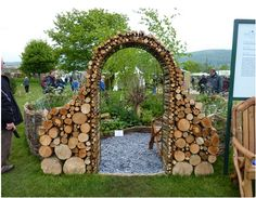 Как сделать необычную деревянную арку. | Столярный блог.