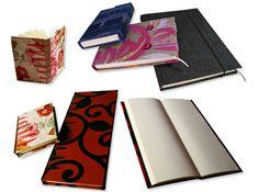 Variedad de objetos que realizo para la línea EDDA. Para más información visita http://www.arsikasia.com/encuadernacion.html #Journal #Notebook