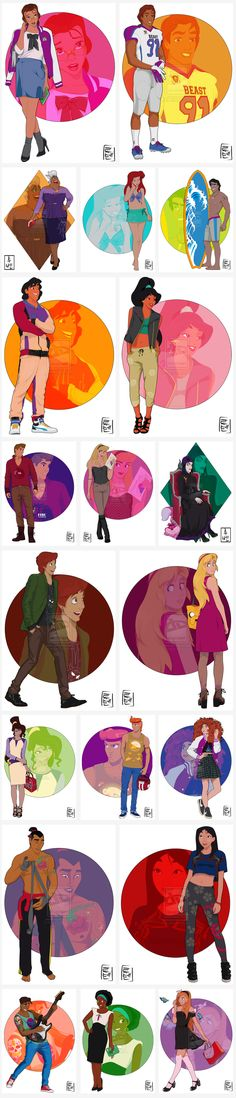 Disney University by Hyung86 - PART 1.