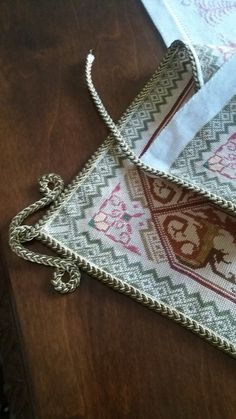 Cross Stitch Embroidery, Shoulder Bag, Wallet, Chain, Diy, Bags, Pocket Wallet, Do It Yourself, Handbags