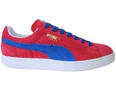 b4af68efb651 Puma Suede Classic Eco Trainer Ribbon Red Puma Royal - Terraces Menswear