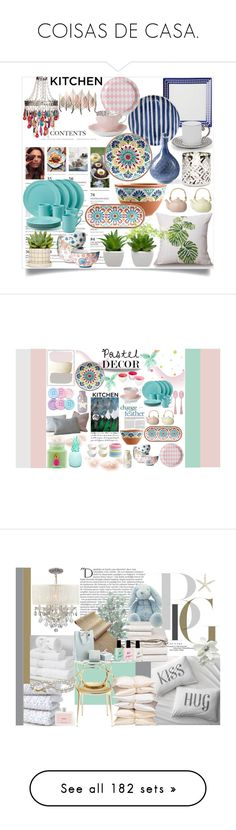 """""""COISAS DE CASA."""" by claudia-senna ❤ liked on Polyvore featuring interior, interiors, interior design, home, home decor, interior decorating, L'Objet, Frontgate, Yankee Candle and Boho Boutique"""