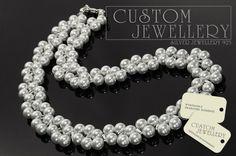 #Biżuteria  #ślubna na #perłach Swarovski zapraszamy na www.customjewellery.pl