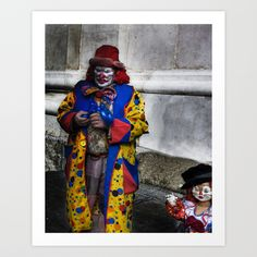 Coulrophobia by Geoffrey Agrons