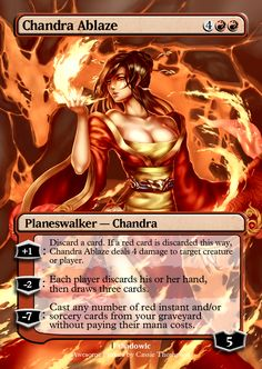Chandra Ablaze by on DeviantArt
