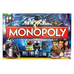 Doctor Who Monopoly!?!? I must have it ; )