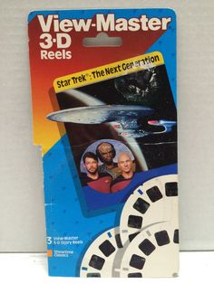 (TAS003694) - 1989 View-Master 3-D Reels - Star Trek The Next Generation