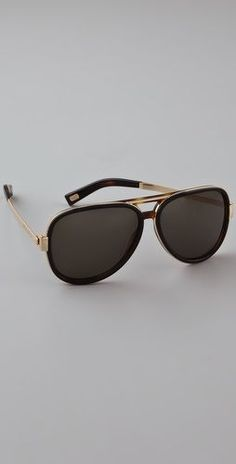 Marc Jacobs Sunglasses Aviator Sunglasses - StyleSays