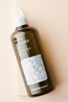 Slide View: Thank You Farmer Back to Iceland Cleansing Water Thank You Farmer, Face Care, Skin Care, Skin Food, Cleansing Oil, K Beauty, Natural Skin, Natural Beauty, Makeup Cosmetics