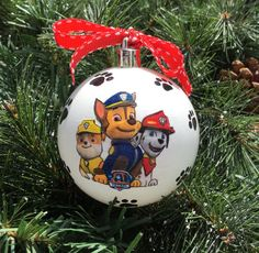 Paw Patrol Christmas Ornament.7 Best Paw Patrol Christmas Ornaments Images Paw Patrol