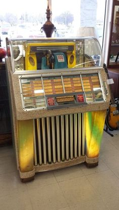 1952 Seeburg Select-O-Matic M100C Jukebox Original