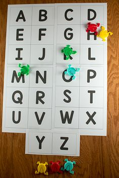 Jumping Frog Alphabet Game