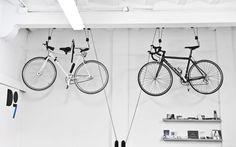 Soporte para colgar bicis #ideascoworking #DO7