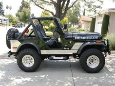 Our first Jeep 1979 CJ5 Renegade J E E P Pinterest
