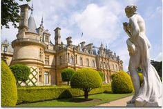 Waddesdon Manor near Aylesbury, in Buckinghamshire, England