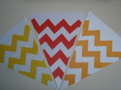 Fabric Bunting Chevron Red Orange Yellow Combo by customflag, $19.00 Custom Feather Flags, Custom Flags, Fabric Flag Banners, Fabric Bunting, Military Homecoming Signs, Funny Flags, Flag Game, Tennessee Flag