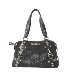 I found  Harley-Davidson® Women s Jacquard Black Satchel Bag Handbag Purse -LIMITED af9caea2e573e