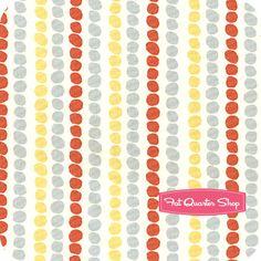 Storyboek II Organic Multi Pebble Stripe Yardage SKU# SB-20 - Fat Quarter Shop
