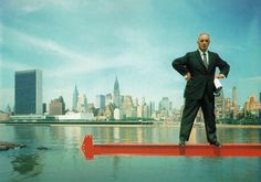 Master Builder Robert Moses, by Arnold Newman