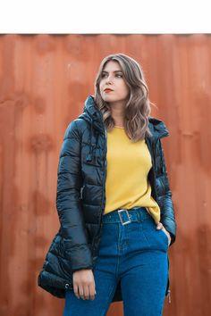 16 melhores ideias sobre Casacos Mulher | Mulher, Moda e