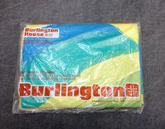 Vintage Burlington House Vera Waves in Blue by ElkHugsVintage, $21.00