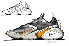 Miscellaneous 1 on Behance Designs To Draw, Cool Designs, Futuristic Shoes, Sneakers Sketch, Ribbon Shoes, Shoe Sketches, Soccer Boots, Industrial Design Sketch, Shoe Art