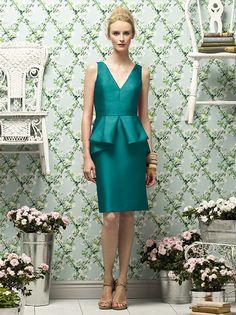 Lela Rose Style LR186 http://www.dessy.com/dresses/lelarose/LR186/?color=jade&colorid=637#.UoLQhnm9LCQ