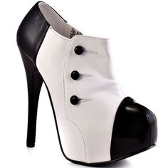 High Heels... Viva Bordello  				  				Steel City - White Black