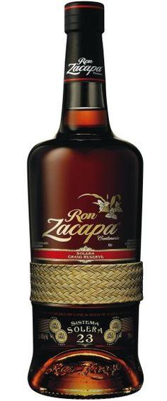 Zacapa Bottle