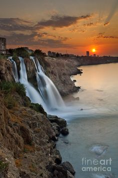 Antalya Waterfall, Turkey