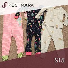 👑Girl Pajamas 18 months. Euc Pajamas Pajama Sets