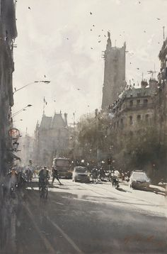 Australian artist, watercolor