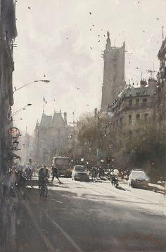 Australian artist, watercolor